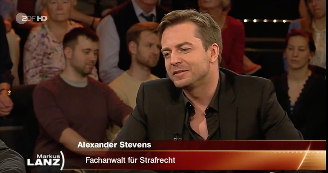 Alexander Stevens Markus Lanz