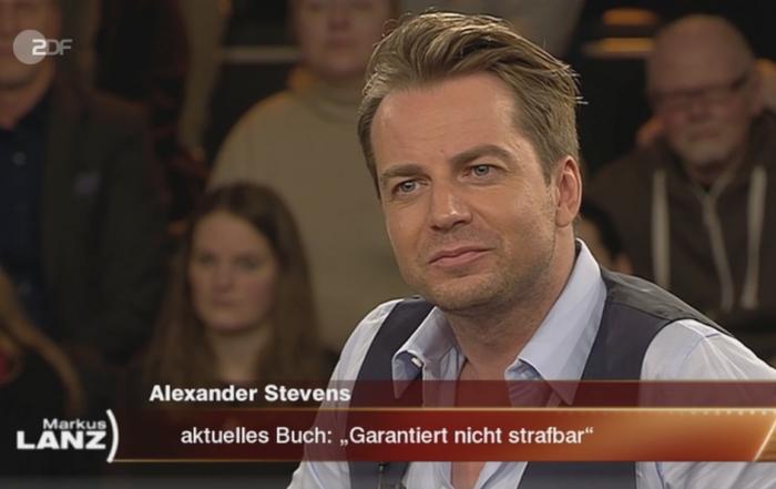 Alexander Stevens bei Markus Lanz