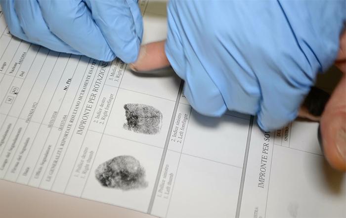 Erkennungsdienstliche Behandlung