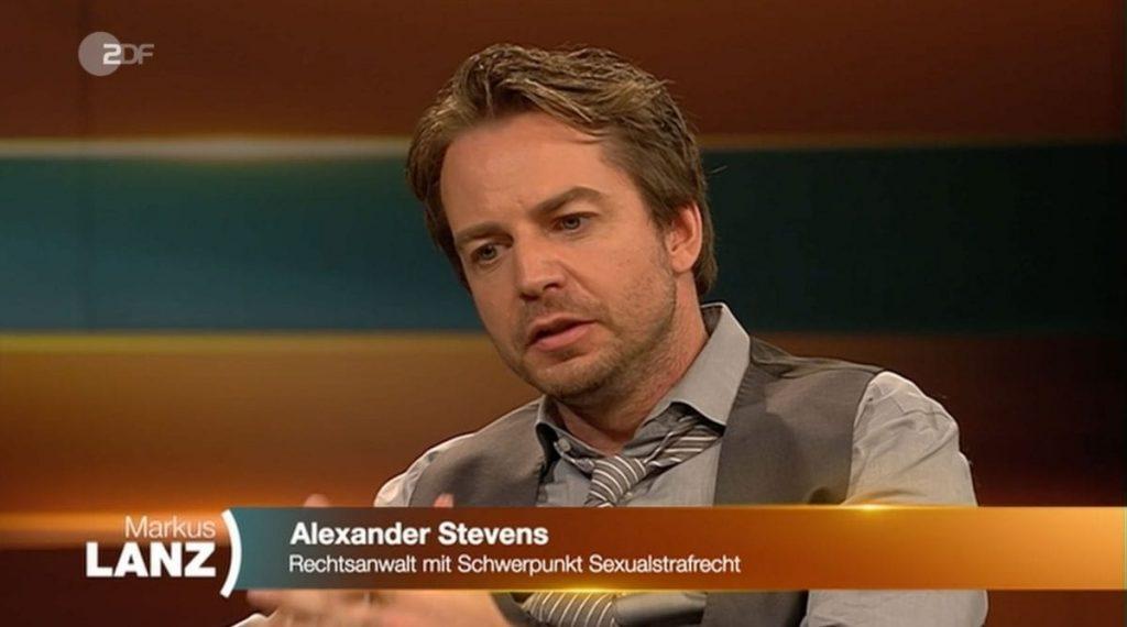 Dr. Stevens bei Markus Lanz   Anwalt für Strafrecht Rechtsanwalt + Fachanwalt
